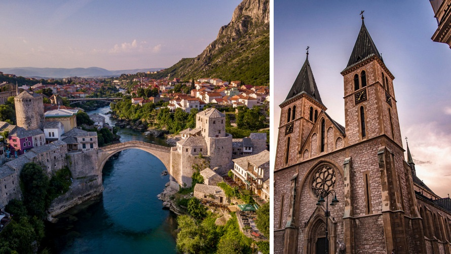 Things to do in Bosnia: Mostar & Sarajevo