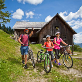 Family activity holidays in Slovenia