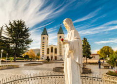 Church of Saint James in Medjugorje, Bosnia and Herzegovina