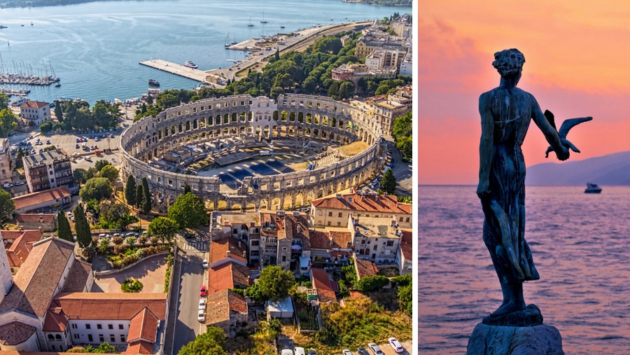 Tour to Croatia - Escorted trip - Holidays in Croatia - Pula, Opatija