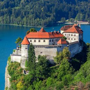 Castles of Slovenia - Bled