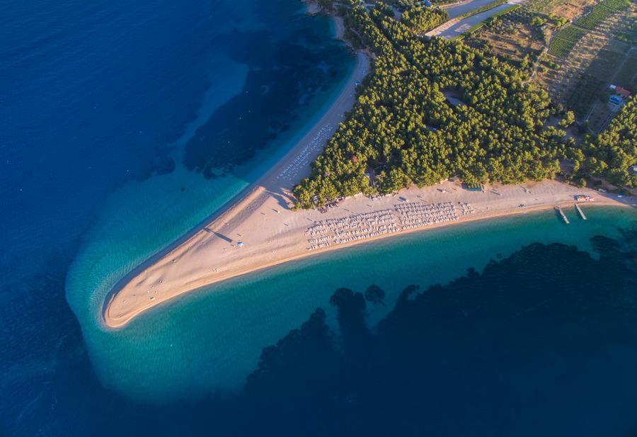 Brac Island in Croatia - zlatni rat