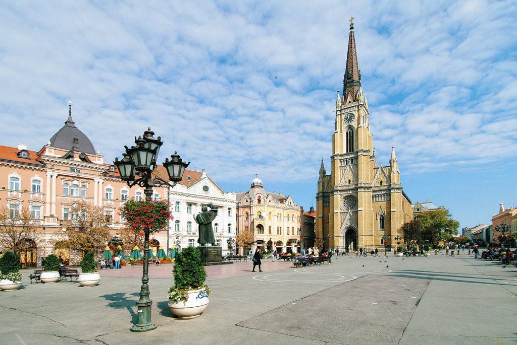 places to visit in Serbia - Novi Sad