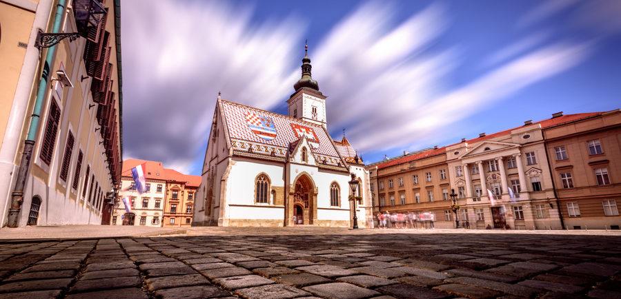 Que ver en Zagreb: La iglesia de San Marco