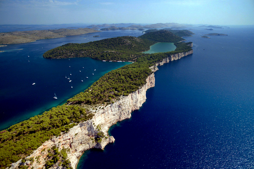 Kornat - the largest island of Kornati National Park