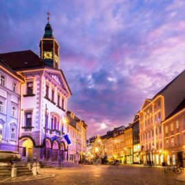 Mercados navideños en Eslovenia, Liubliana
