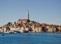 Romantic city of Rovinj