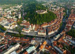 The historic centre of Ljubljana