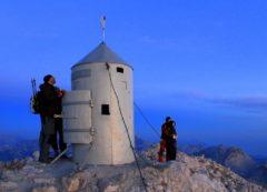 The peak of Triglav