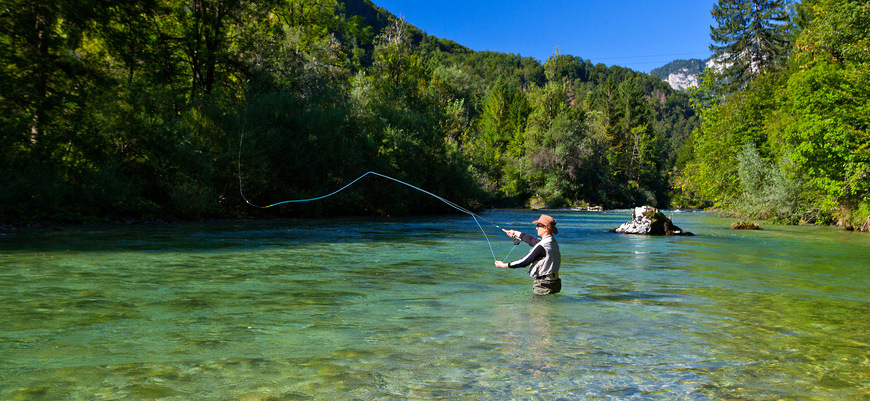 Fly Fishing in Slovenia - Sava