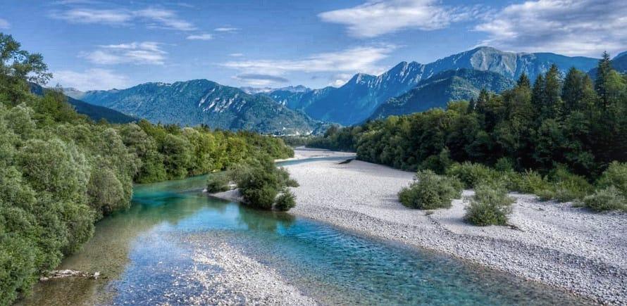 Fly Fishing in Slovenia - Soča