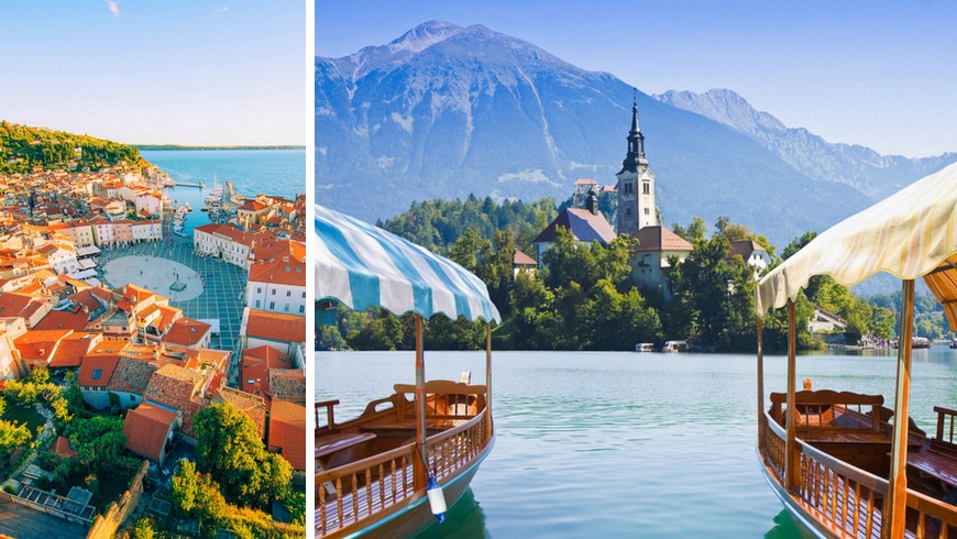 Itinerary for Slovenia - Piran & Bled