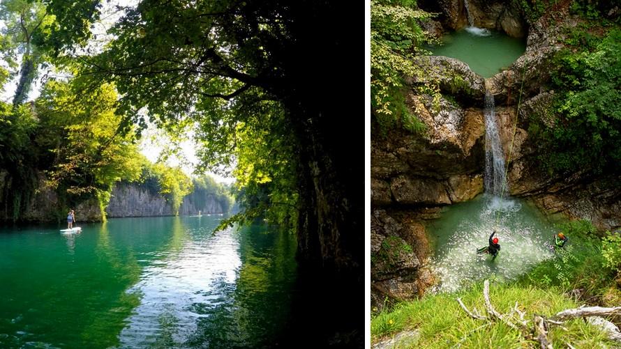 Soca River Valley: SUP & Canyoning
