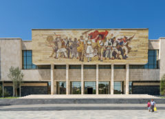 National Museum of History in Tirana, Albania