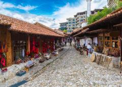 Old Bazaar in Kruje, Albania
