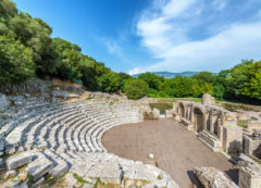 Butrint archaeological site, travel to Albania