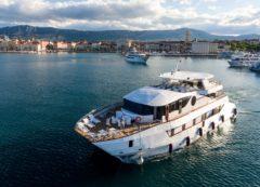 Luxury cruise boat