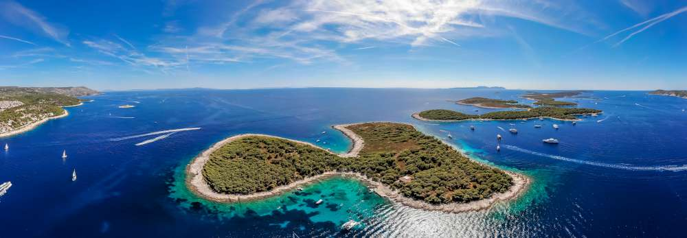 Isole da Duborvnik a Zara