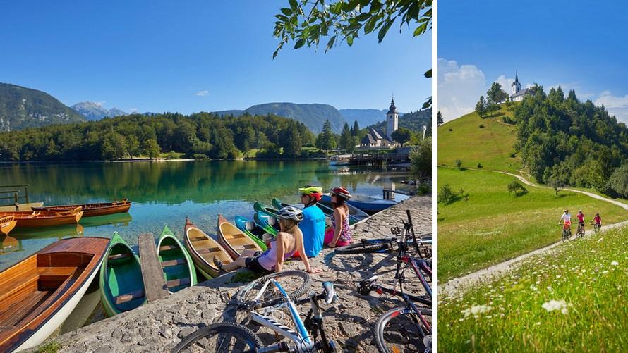 Slovenia by bike: Bohinj