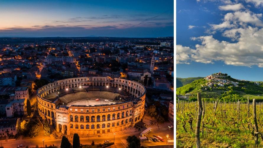 Visit Istria - Pula & Motovun (Croatia)