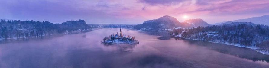 viaje navideño: Bled