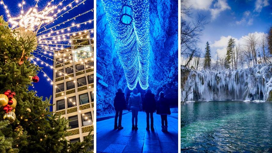 viaje navideño: Eslovenia y Croacia