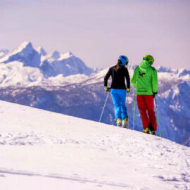 Winter Holidays in Slovenia - skiing