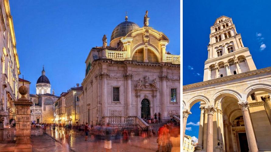 UNESCO sites in Croatia: Dubrovnik and Split