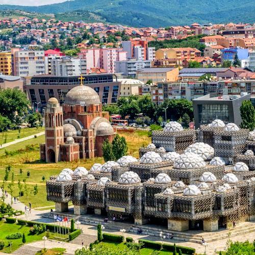 Pristina in Kosovo