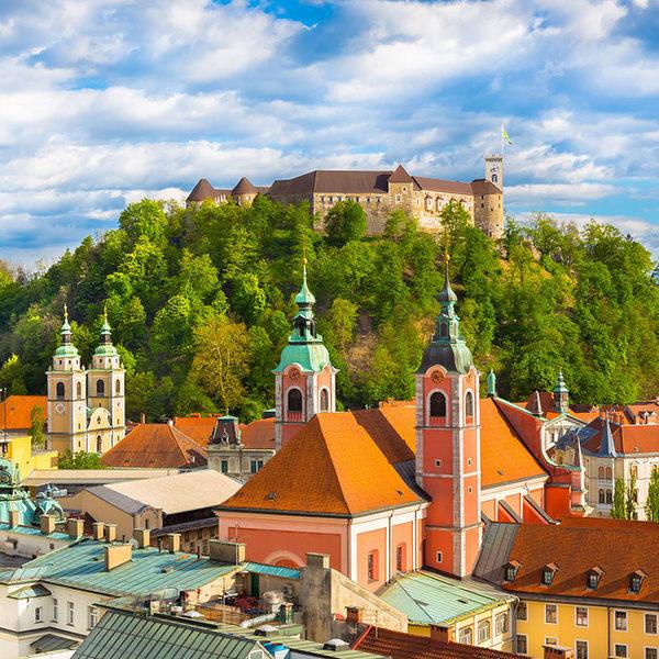 Balkan capitals - Ljubljana