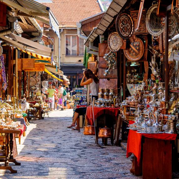 Balkan capitals - Sarajevo