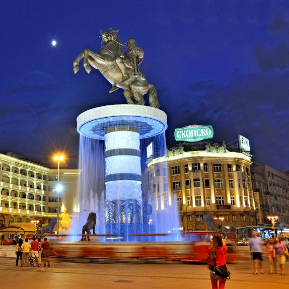 Balkan capitals - Skopje
