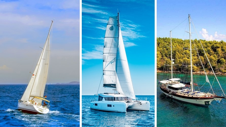 Sailing holidays in Croatia - sailing boat, catamaran, gulet