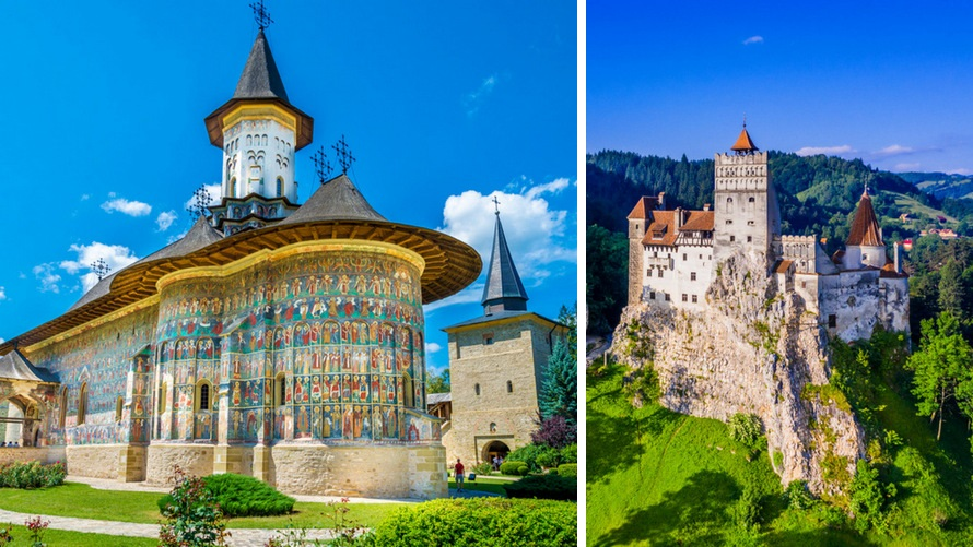 Trip to Romania - Monatseries of Moldavia, Bran Castle