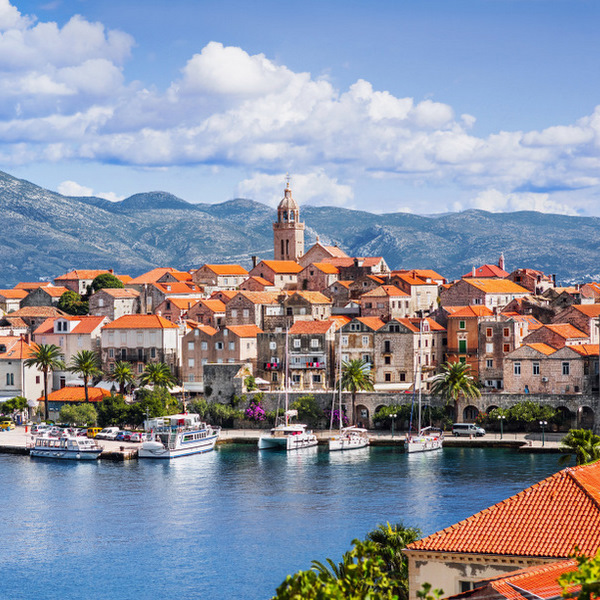 island of Korcula, Croatia