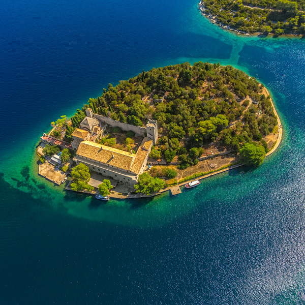 Best Dalmatian islands to visit - mljet