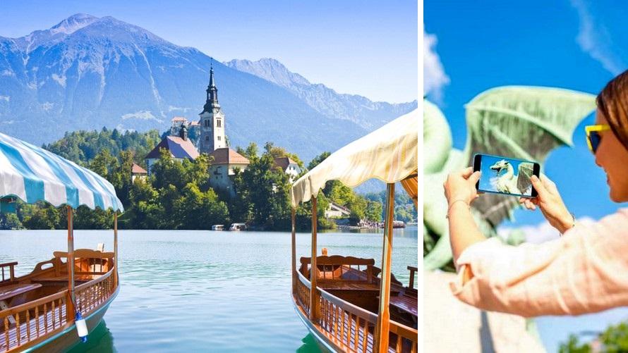 Pan Balkan trip - Ljubljana Bled