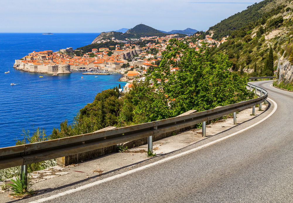 Most scenic roads in the Balkans - Adriatic Highway