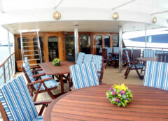 Greek luxury ship - main deck