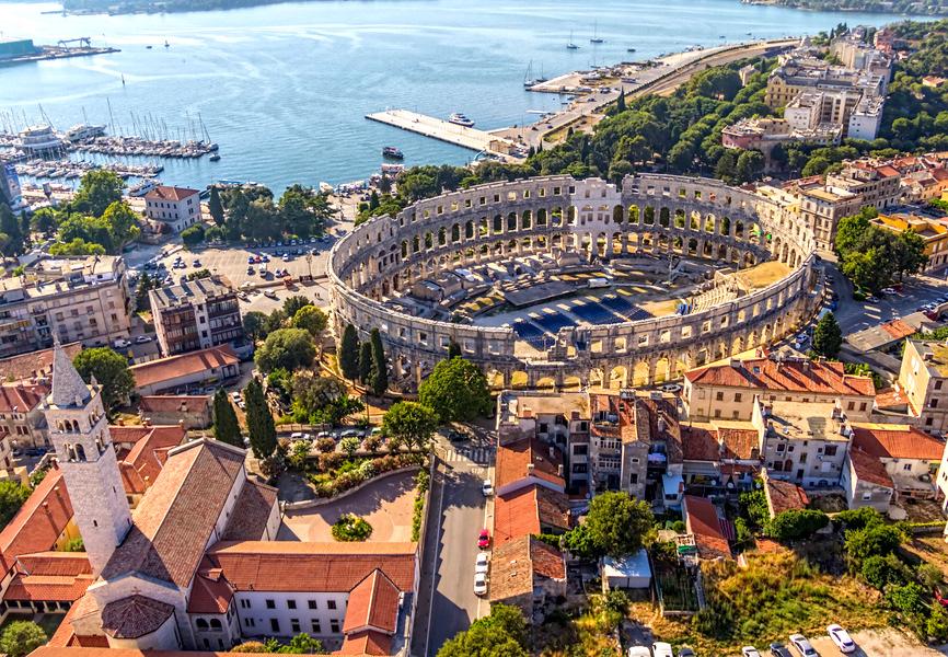 Must see Istria: Pula