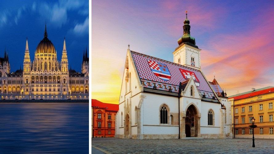 tour europeo - budapest - zagreb