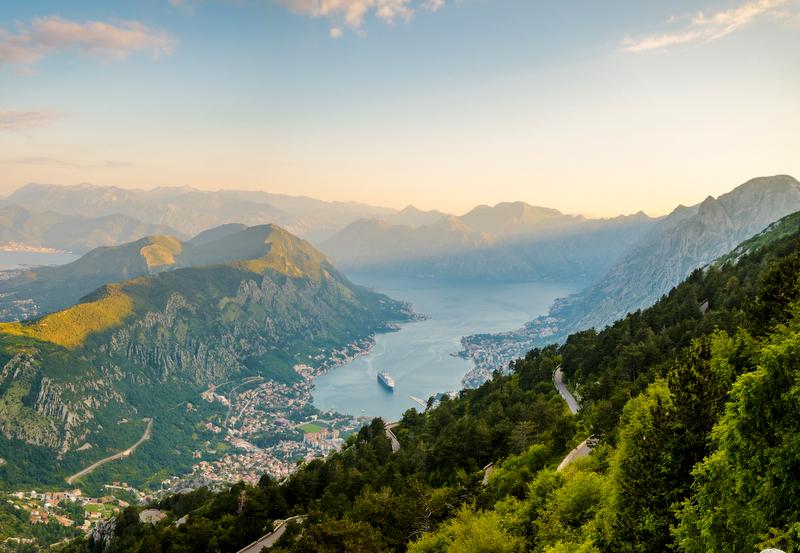 Most Scenic roads - Montenegro
