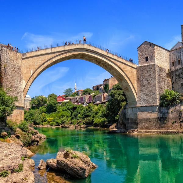 Mostar in Bosnia and Herzegovina