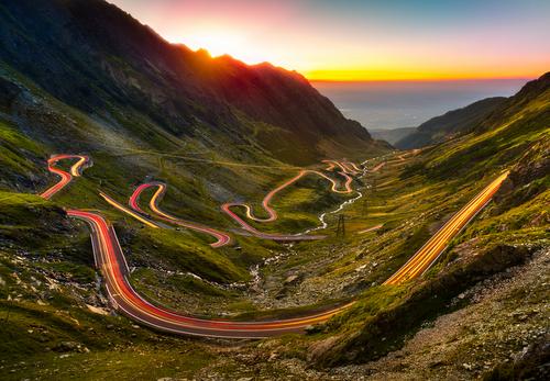 Transfagarasan - most scenic roads in the balkans