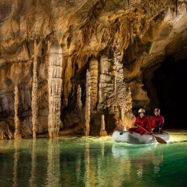 Visit Caves in Slovenia