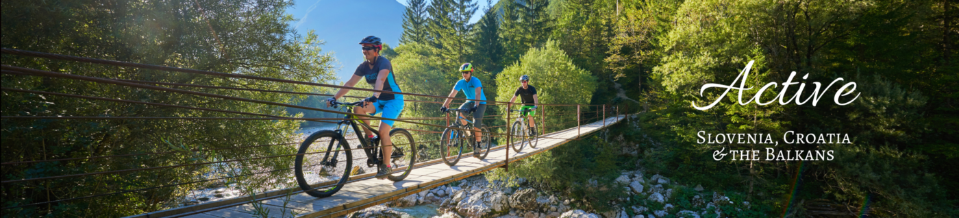 Active trips in Slovenia