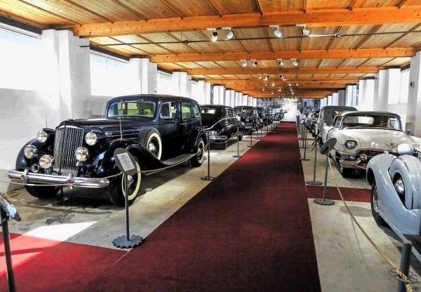 Tito's cars in Bistra, Slovenia